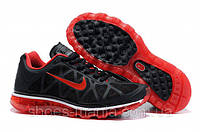 Женские кроссовки Nike Air Max 2011 (black-red)