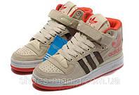 Женские кроссовки Adidas Forum Mid A-30012-8, фото 1