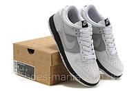 Женские кроссовки Nike DUNK Low белые, фото 1