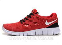 Женские кроссовки Nike Free Run 2 (red)