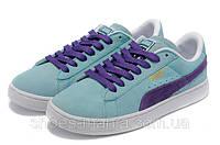 Женские кроссовки Puma Suede blue-violet