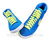 Женские кроссовки Nike Blazer Mid (blue-green)