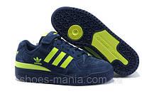 Женские кроссовки Adidas Forum Low (blue-green), фото 1