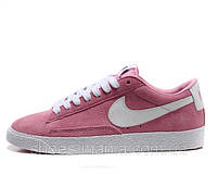 Женские кроссовки Nike Blazer Low (pink), фото 1
