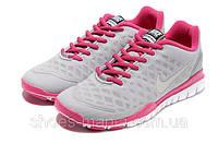 Женские кроссовки Nike Free TR Fit (grey-pink), фото 1