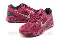 Женские кроссовки Nike Air Max 2013 малиновые, фото 1