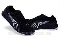 Кроссовки женские puma черные, фото 1