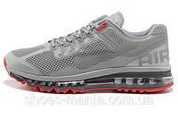 Женские кроссовки Nike Air Max 2013 серые