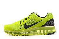 Женские кроссовки Nike Air Max 2013 салатовые, фото 1
