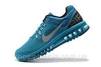 Женские кроссовки Nike Air Max 2013 синие, фото 1