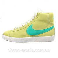 Женские кроссовки Nike Blazer Mid (yellow)