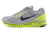 Женские кроссовки Nike Air Max 2013 (grey-green)