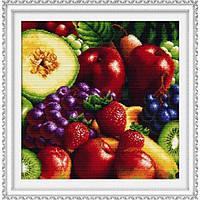 Набор для вышивки крестом DOME 90601 Свежие фрукты 1 Подушка