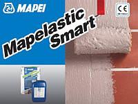 Двухкомпонентная высокоэластичная цементная гидроизоляция бетонных поверхностей Mapei Mapelastic Smart 30 кг