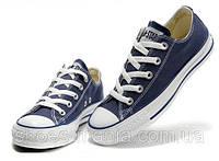 Кеды Converse All Star Low (blue-white), фото 1