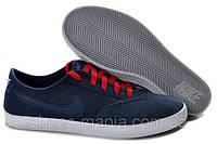 Мужские мокасины Nike Regent Split сине-красные, фото 1