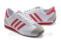 Мужские кроссовки Adidas Country бело-красные, фото 1