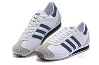Мужские кроссовки Adidas Country (white-blue), фото 1