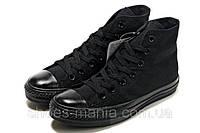 Кеды Converse All Star высокие (черные), фото 1