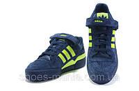 Мужские кроссовки Adidas Forum Low (green-blue), фото 1