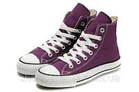 Кеды Converse All Star высокие (violet), фото 1