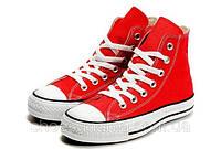 Кеды Converse All Star высокие (красные), фото 1