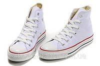 Кеды Converse All Star высокие (белые), фото 1