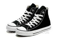 Кеды Converse All Star высокие (черно-белые), фото 1