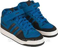 Мужские кроссовки Adidas Forum Mid синие, фото 1
