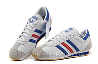 Мужские кроссовки Adidas Country (white-blue-red)