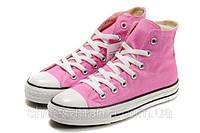 Кеды Converse All Star высокие (pink), фото 1