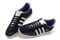 Мужские кроссовки Adidas Gazelle (blue-violet), фото 1