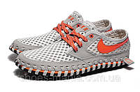 Кроссовки Nike Lava Dome CI (grey-orange), фото 1