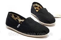 Кеды Toms Classic Slip-On черные, фото 1