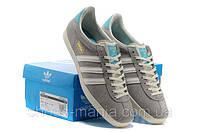 Мужские кроссовки Adidas Gazelle (grey), фото 1