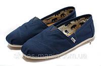 Кеды Toms Classic Slip-On синие