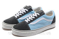 Кеды VANS Old Skool (black-blue), фото 1