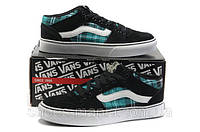 Кеды VANS Old Skool (black-white-blue), фото 1