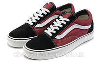 Кеды VANS Old Skool (black-red), фото 1
