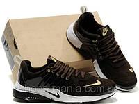 Кроссовки Nike Air Presto brown-white, фото 1