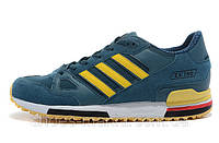 Мужские кроссовки Adidas ZX-750 (blue-yellow), фото 1
