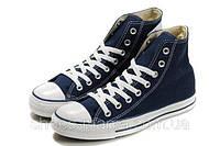 Кеды Converse All Star высокие (синие), фото 1
