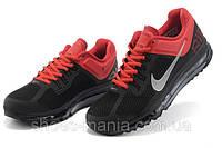 Кроссовки Nike Air Max 2013 черно-красные, фото 1