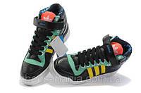 Мужские кроссовки Adidas Forum Mid (black), фото 1
