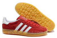 Мужские кроссовки Adidas Gazelle красные, фото 1