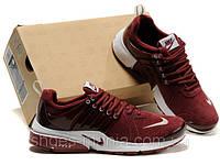 Кроссовки Nike Air Presto малиновые, фото 1