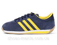 Мужские кроссовки Adidas Country (blue-yellow)