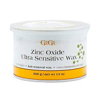 804 GIGI Zinc Oxide Ultra Sensitive Wax 368g - воск c оксидан.цинка для эпиляции чувствительн.кожи