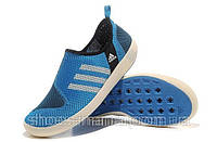Летние кроссовки Adidas Boat SL синие