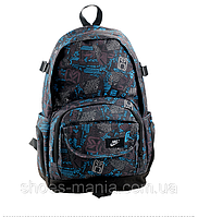 Рюкзак мужской Nike серо-синий А-50011-29